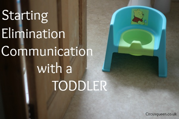 Nappy-free: starting elimination communication with a toddler