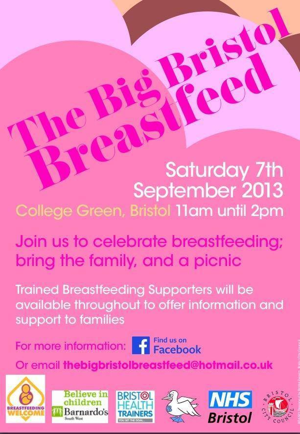 The Big Bristol Breastfeed