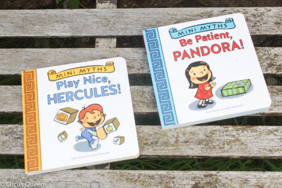 Greek Myths re-imagined for toddlers – book review and giveaway