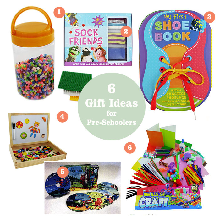 Gift ideas for preschoolers from The Works