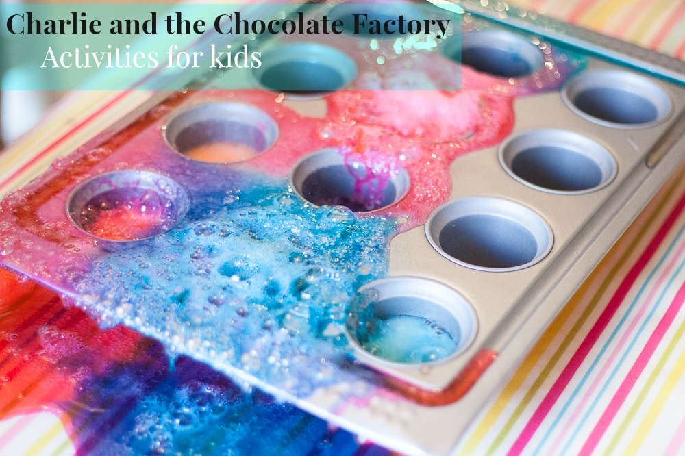 Ten Charlie and the Chocolate Factory activities for younger children