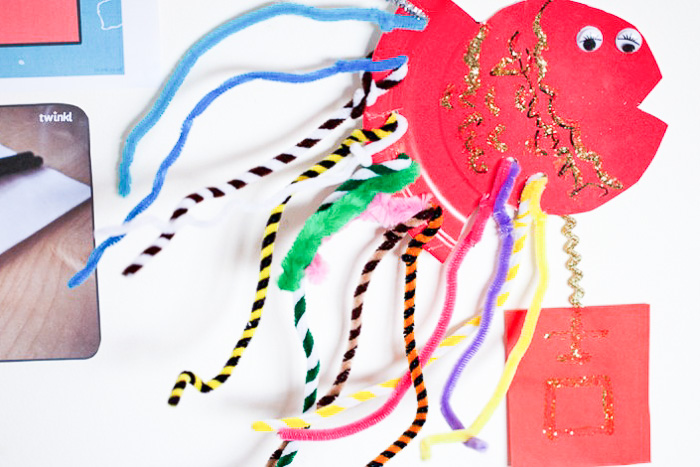 Lucky fish – Chinese New Year craft