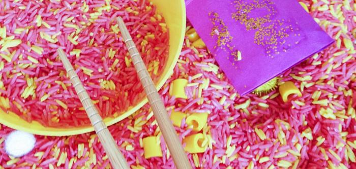 Chinese New Year sensory box