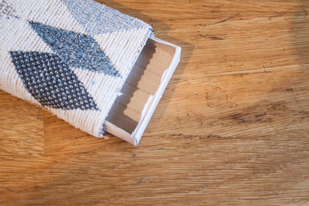 Make a matchbox trinket box