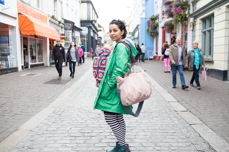 Lässig changing bag: eco review and giveaway
